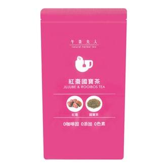 午茶夫人 红枣国宝茶 12包入 36g