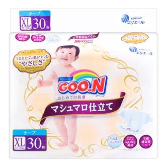 日本GOO.N大王 PREMIUM SOFT天使系列 纸尿裤 #XL 12~20kg  30枚入