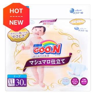 GOO.N Premium Soft Baby Diaper X-Large Size 30 Sheets