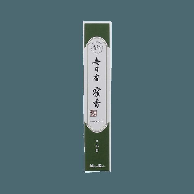 商品详情 - 日本香堂  香所 每日香 线香  藿香 30根 - image  0