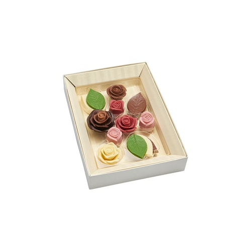 MESSAGE DE ROSE Valentine's Day Limited Flower Chocolate 10pc