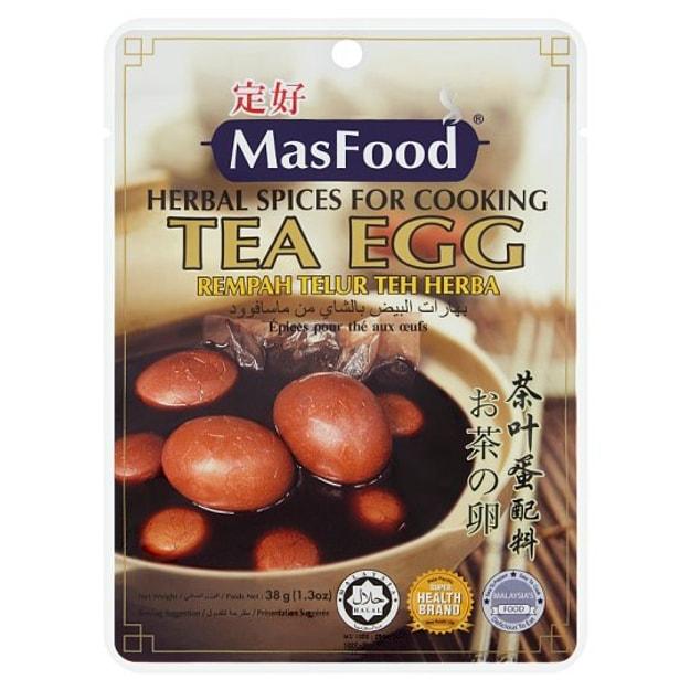 商品详情 - 【马来西亚直邮】马来西亚 MASFOOD 定好 茶叶蛋配料 38g - image  0