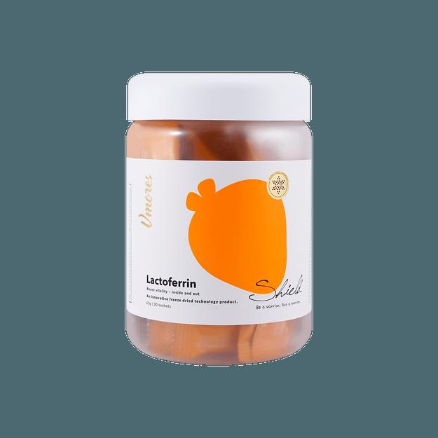 商品详情 - 澳洲VMORES  SHIELD冻干乳铁蛋白 30袋 增加免疫力 - image  0