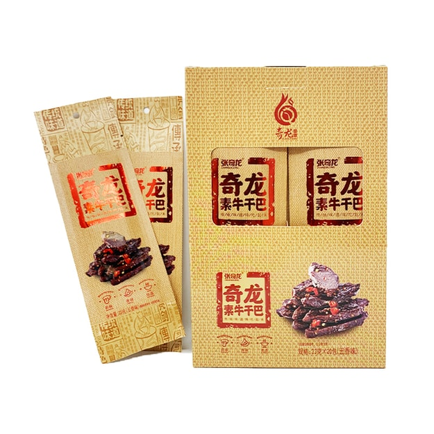 Product Detail - ZHANGQILONG Tofu Strips Spiced Flavor 23g*20 bags - image 0