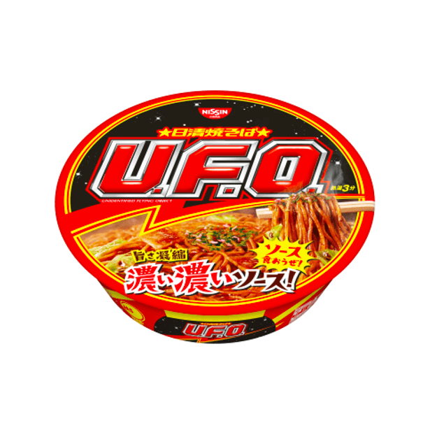 Product Detail - NISSIN UFO BBQ Sauce Chow Mein 123g - image 0