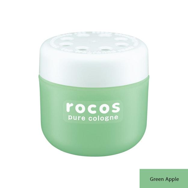 商品详情 - 日本 CARALL Rocos Cologne 车载固体香薰持久除味空气清新 Green Apple 5.6oz - image  0