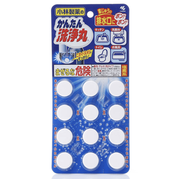 KOBAYASHI Multi Purpose Easy Cleaning Scented Cleaner 12 Tablets