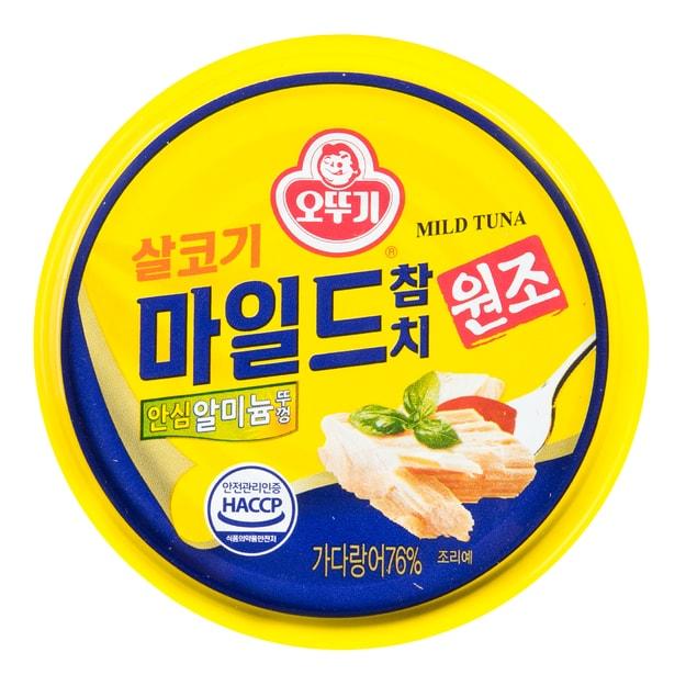 商品详情 - 韩国OTTOGI不倒翁 金枪鱼罐头 微辣 150g - image  0