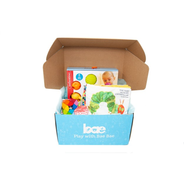 Product Detail - US Bae Bae Box 7 months baby toy box 3 pieces - image 0