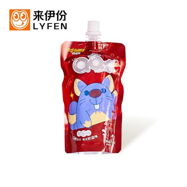 商品详情 - 来伊份 QQ冻可吸果冻 可乐味 150g - image  0