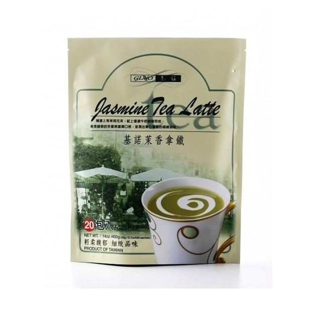商品详情 - 台湾基诺 日式风味茉香拿铁 20包入 400g - image  0