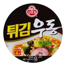 韩国OTTOGI不倒翁 天妇罗乌冬面 碗面 110g