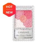 CANMAKE Mat Fleur Cheeks 01 Apricot 1pc