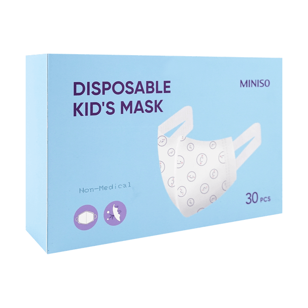 Product Detail - SHUJIE Disposable 3 Layers Kid\'s 3D Mask Fit 3-6years old Children 30 pcs - image  0