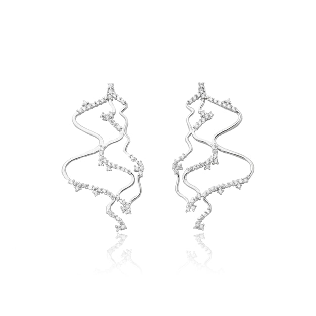 Product Detail - ARSIS Star Ocean Wavy Earrings 1 pair - image 0