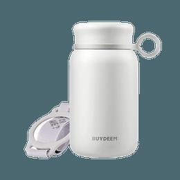 【Low Price Guarantee】Vacuum Insulated Stainless Steel Water Bottle, Travel Mug, 300ml, Pure White