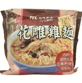 [Taiwan Direct Mail] Taiwan Taiwanese wine carving chicken noodle -1 piece