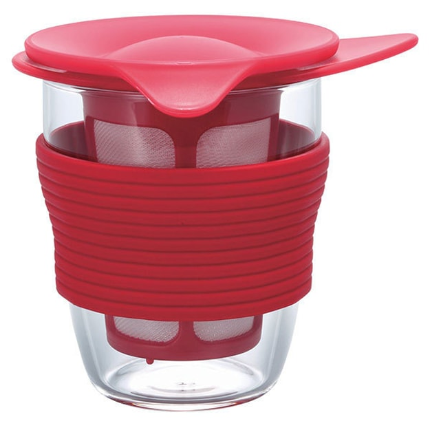 Product Detail - HARIO Heat-resistant Tea Cup / HDT-M  Red 200ml - image 0