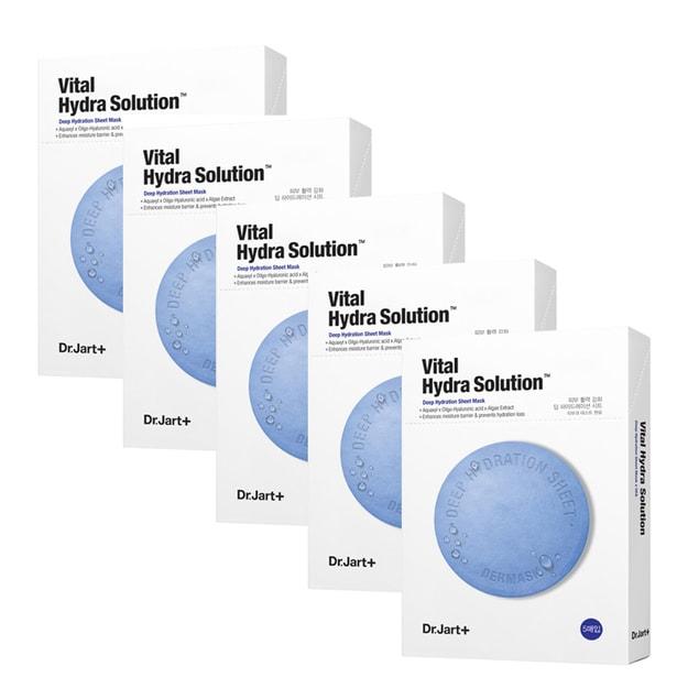 Product Detail - DR.JART+ Dermask Water Jet Vital Hydra Solution Mask 5sheets*5packs - image 0