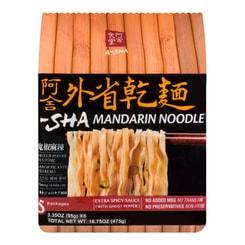 A-SHA Mandrain Noodle 5packs -Jalapeno Spicy Flavor 475g