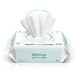 BEBESUP Baby Wipes Light Type 80sheets