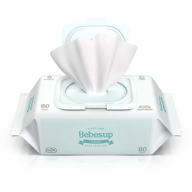 Product Detail - BEBESUP Baby Wipes Light Type 80sheets - image 0