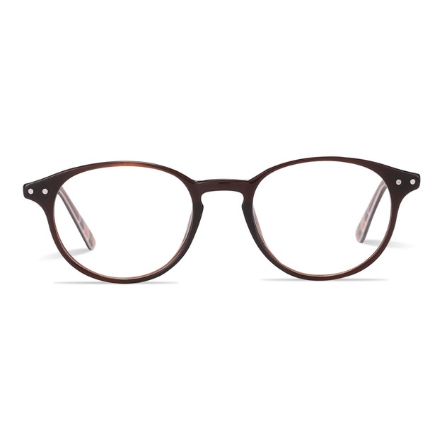 Product Detail - DUALENS Digital Protection Eyeglasses: Brown (DL75022 C1) - Lens Included - image 0