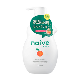 KRACIE NAIVE Body Wash Peach 530ml