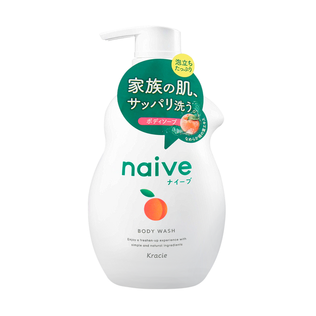 Product Detail - KRACIE NAIVE Body Wash Peach 530ml - image 0
