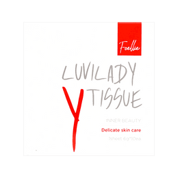 FOELLIE Luvilady Y Tissue Feminine Cleanser 10 Sheets