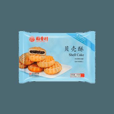 【冷冻】稻香村 贝壳酥 枣泥馅 (需冷冻保存需烘烤)  420g