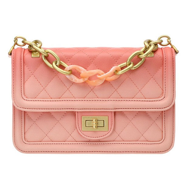 Product Detail - ATTRANGS Shoulder Bags Pink free size - image 0