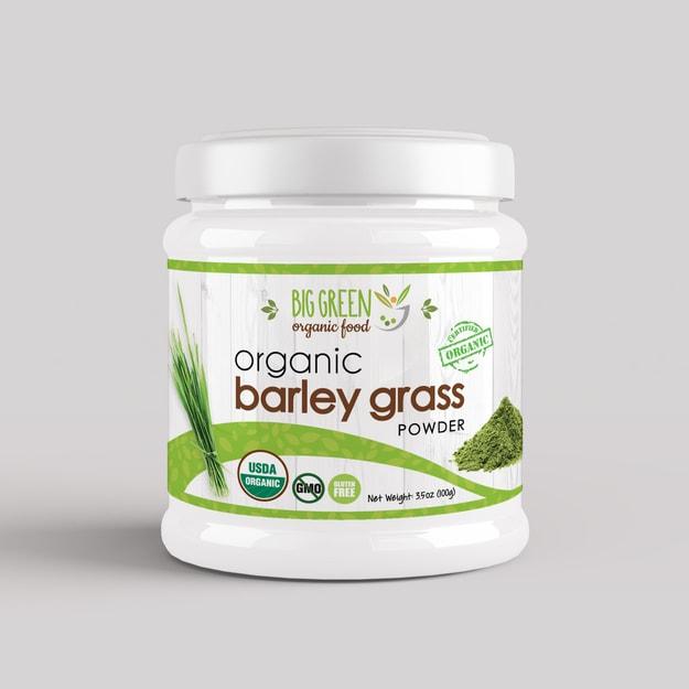 Product Detail - BIG GREEN Organic Barley Grass Powder 100g - image 0