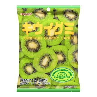 日本KASUGAI春日井 水果QQ软糖 猕猴桃味 107g