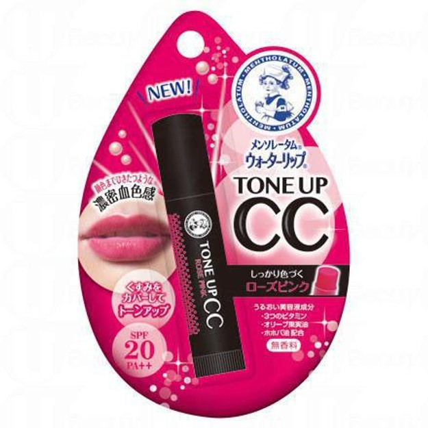 Product Detail - MENTHOLATUM Tone Up CC Water Lip #RosePink 4.5g - image 0