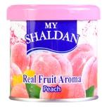MY SHALDAN Real Fruit Aroma Air Freshener Peach 80g