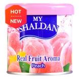 日本MY SHALDAN 汽车室内真正水果香气除臭剂 水蜜桃 80g