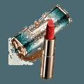 【中国直邮】花西子同心锁口红/浮雕雕花哑光唇膏中国风M413檀心锁(甜杏蜜桃)