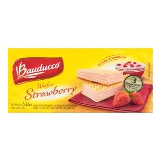 巴西BAUDUCCO 威化饼干 草莓味 165g