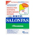 SALONPAS Pain Relieving Patch 40pcs