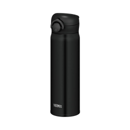 THERMOS 膳魔师||一触式轻量便携真空隔热保温杯||黑色 500ml 1个