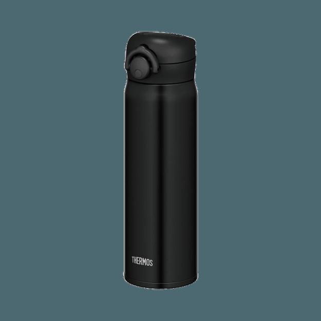 商品详情 - THERMOS 膳魔师||一触式轻量便携真空隔热保温杯||黑色 500ml 1个 - image  0