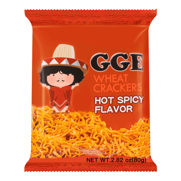 Product Detail - WEILIH GOOD GOOD EAT Hot Spicy Flavor Wheat Cracker 78g (Random Delivery of 2 Packaging) - image 0