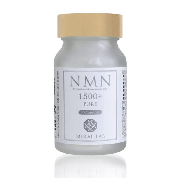 商品详情 - 【日本直邮】新兴和制药 MIRAI LAB NMN1500 高纯度抗衰老 逆龄丸 60粒 - image  0