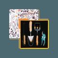【国民品牌 品质保证】张小泉 春悦系列 不锈钢园艺工具四件套