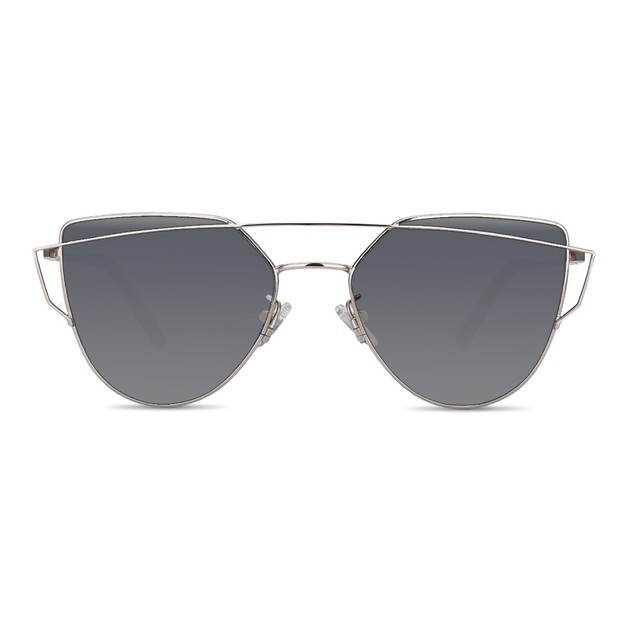 DUALENS Fashion Sunglasses: Silver (DL82004)