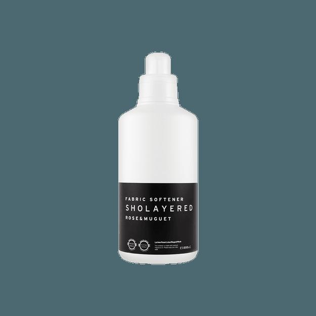 商品详情 - 日本Layered Fragrance 洗衣衣织物香味柔软剂 山谷玫瑰和百合 1000ml - image  0