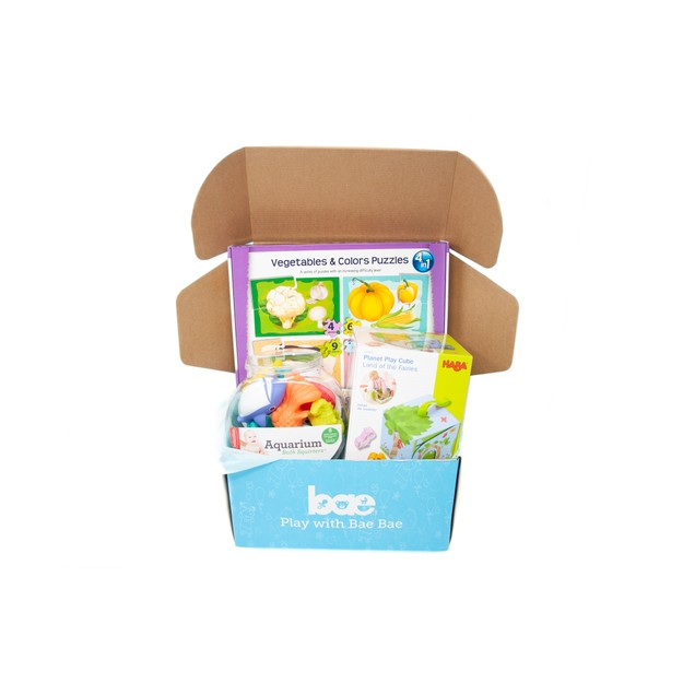 Product Detail - US Bae Bae Box 18 months baby toy box 3 pieces - image 0
