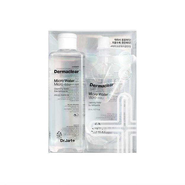 Product Detail - Dr.Jart+ Dermaclear Micro Water 8.4oz + GIFT 5.1 oz - image 0