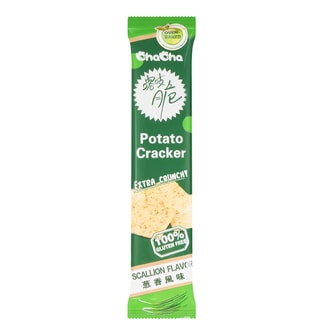 CHA CHA  Potato Cracker Scallion Flavor  51g